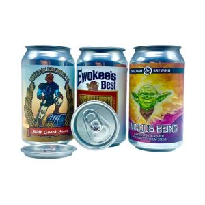 12oz custom labeled cans