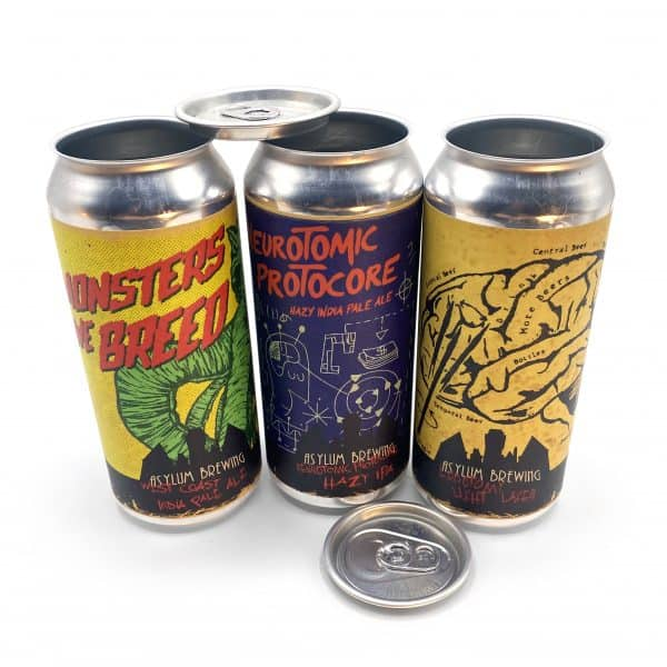 16 Oz Custom Labeled Can